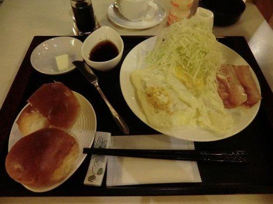 Walk Inn: 朝食
