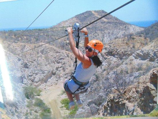 Casa Costa Azul: Zipline!!! So fun!