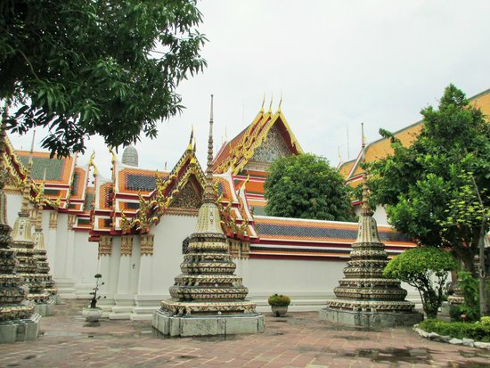 Wat Pho (Tempel des liegenden Buddha): Beautiful architecture