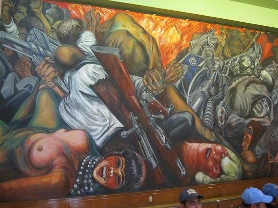 Palacio de Bellas Artes : Mural Orozco