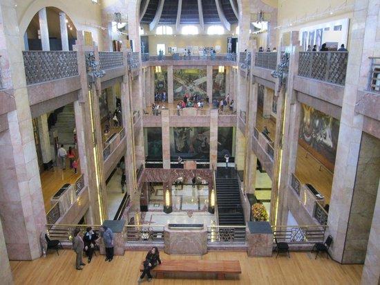 Мехико, Мексика: Interior Palacio Bellas Artes