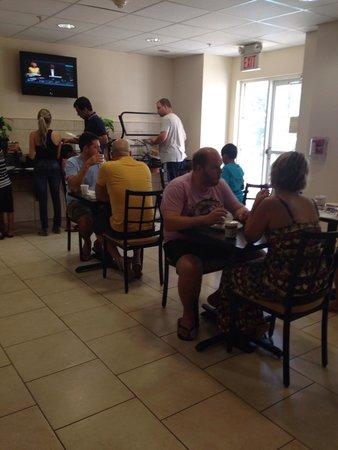 The Floridian Hotel and Suites : Espaço do café-da-manhã!