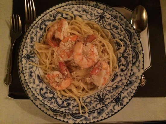 Venezia Ristorante: Shrimp scampi