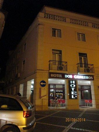 Hotel dos Cavaleiros: Hotel, vista frontal