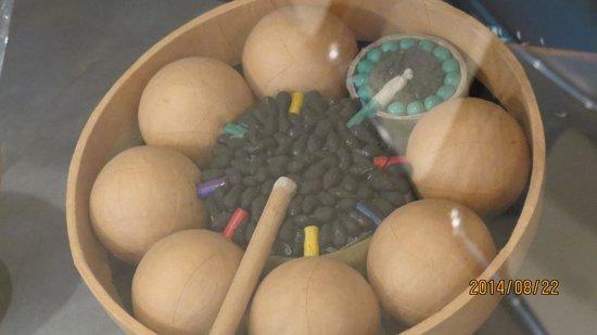 Ryogoku Fire Works Museum: 花火のカットモデル一例
