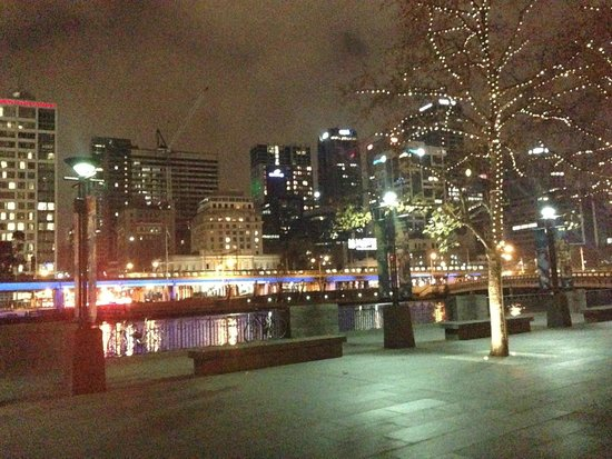 Oaks on Market: Looking back to the Oats Hotel from the Crown Casino