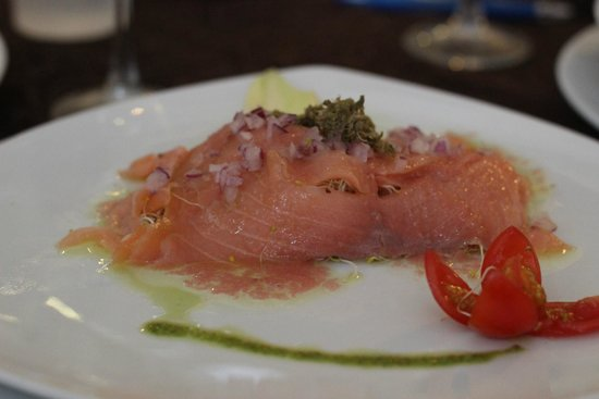 Samba Vallarta All Inclusive : Best Smoke Salmon dish