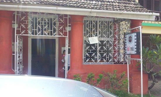 Dal Roti: The Entrance