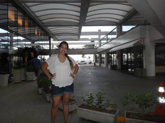 Holiday Inn Fortaleza: Esperando o manobrista