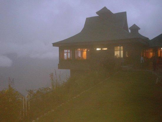 The Srikhand (HPTDC): hotel at night