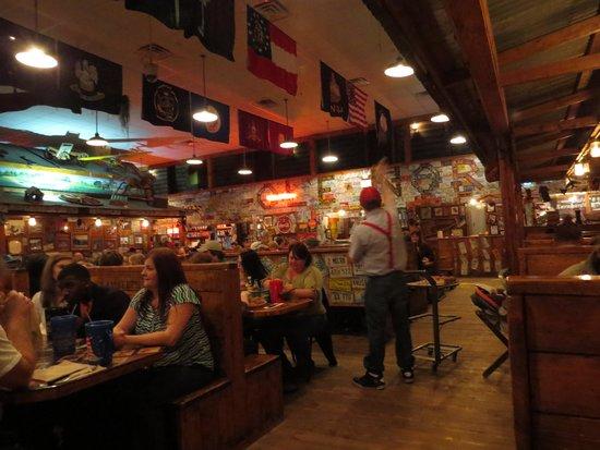 Lambert's Cafe: Throwing rolls