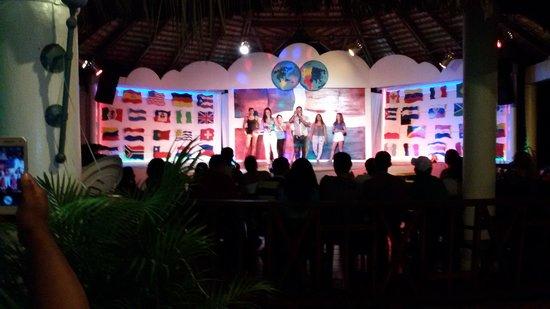 BelleVue Dominican Bay : show nocturno... genial!!!!! lo mejor del hotel