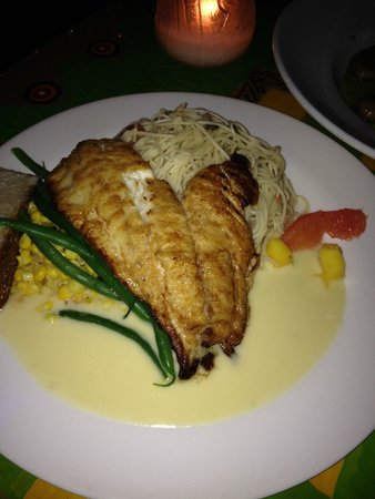 Capt. Vinny Sportfishing Key West - Private Charters: Pan Seared Yellow Tail at Blue Heaven