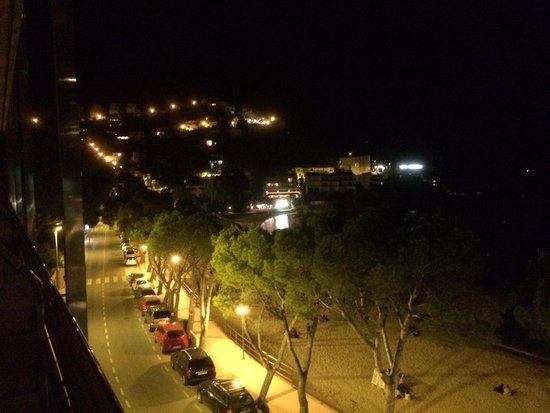 Canyelles Platja: Vue de la chambre côté Mer