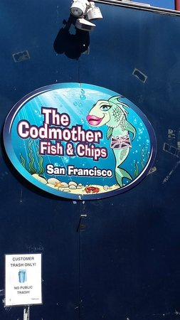 The Codmother Fish & Chips: Codmother Signage