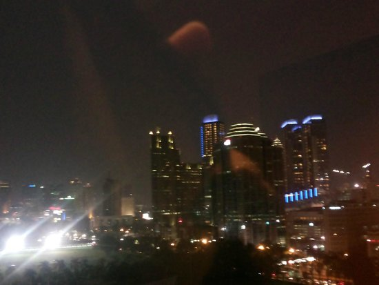 Century Park Hotel: my room view at night