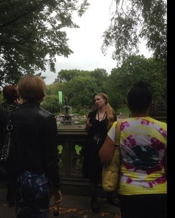 Boroughs Of The Dead: Macabre New York City Walking Tours: Bethesda Fountain Central Park