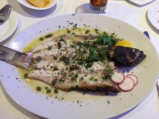 Sea Grill: Barnizo