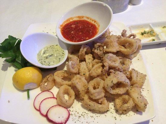 Sea Grill: Deliciosos calamares