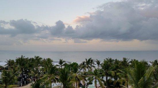 W Bali - Seminyak: sunrise from my balcony