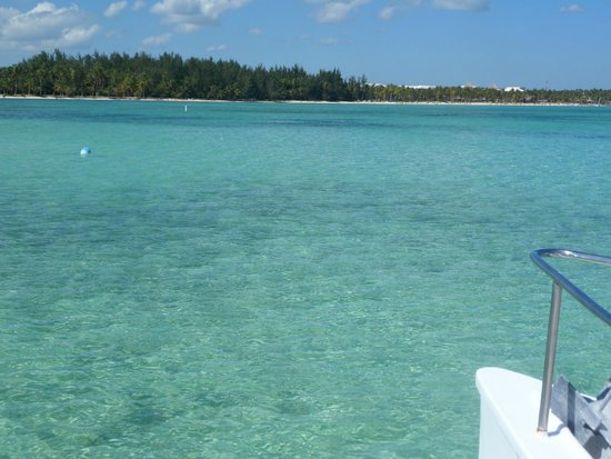 Hard Rock Hotel & Casino Punta Cana: The Ocean is really beautiful at least the places that the tours take you.