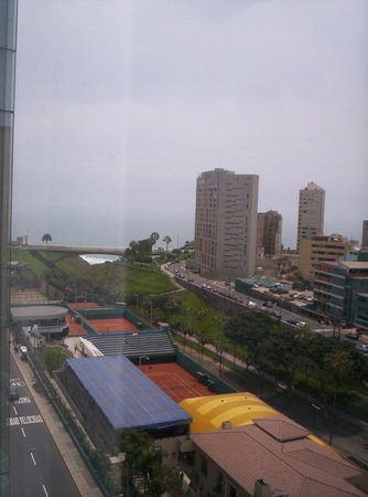 Radisson Hotel Decapolis Miraflores: Vista