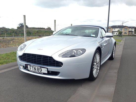 Concept Car Hire: Aston Martin Vantage V8,