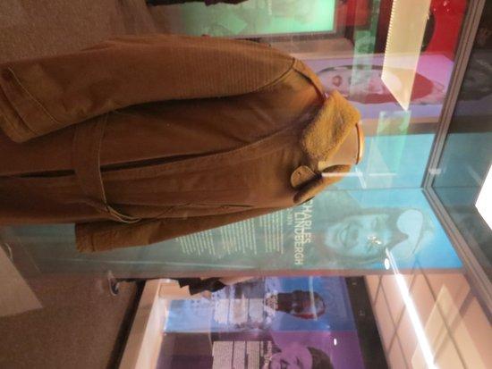 Missouri History Museum : Lindbergh flight suit