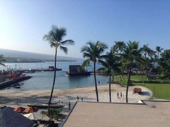 Courtyard by Marriott King Kamehameha's Kona Beach Hotel: l'ocean view