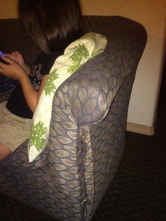 Econo Lodge Eugene: Couch falling apart