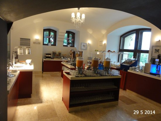 Barceló Brno Palace: The breakfast buffet