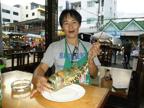 Hua Hin Seafood : Lobster before