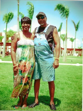 Breathless Punta Cana Resort & Spa : Mr. and Mrs. William Gilmore