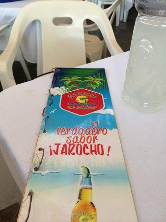 Mariscos la Palmita: menu