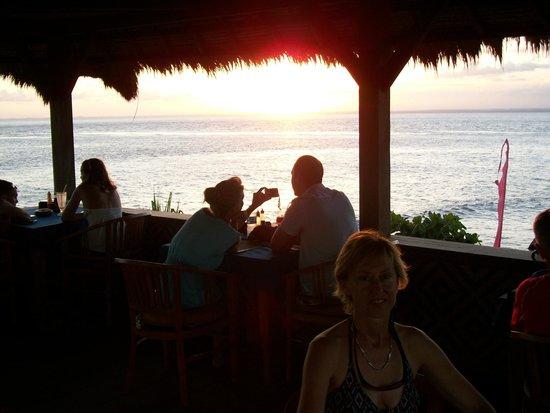 Sunset Villas: View from Restaurant