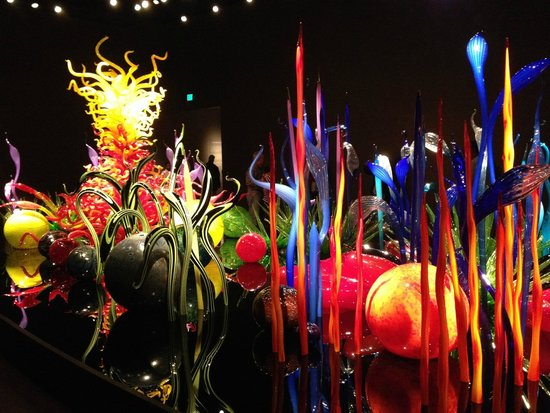 Jardín y cristal Chihuly: Stunning colors and craftmanship