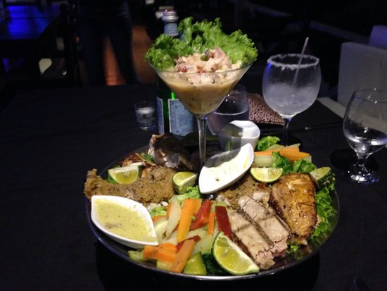 Z Gastro Bar: great grilled seafood!