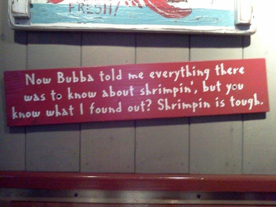 Bubba Gump Shrimp Co. Restaurant and Market: Decor