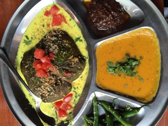 Backdoor Kitchen & Catering: Vegetarian platter