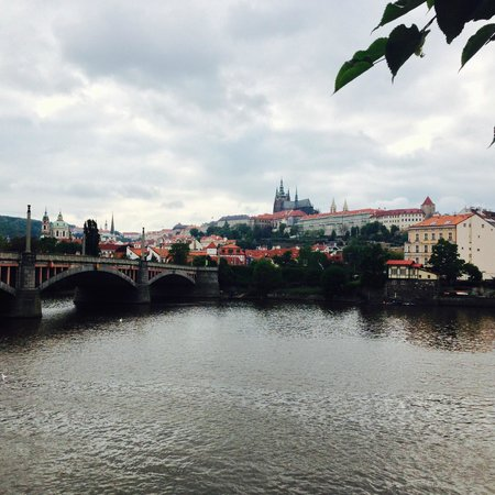 Four Seasons Hotel Prague: View from the Hotel
