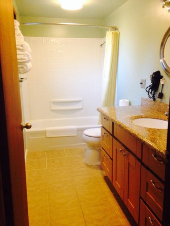 Mountain View Lodge: Unit 15 A-FRAME bathroom