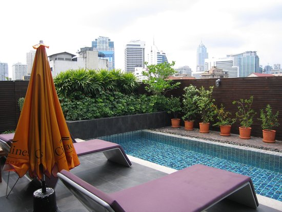 Citadines Sukhumvit 11 Bangkok: 小さいプール
