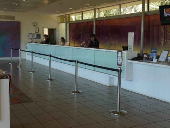 Desert Gardens Hotel, Ayers Rock Resort : reception