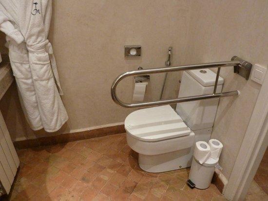 Les Jardins de la Medina: Disabled access room toilet