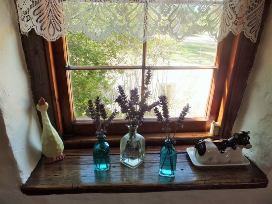 Wagner's Cottages : pretty lavender in kitchen