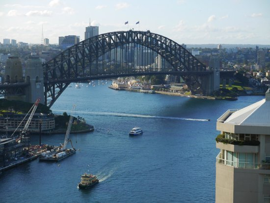 InterContinental Sydney : view from pool