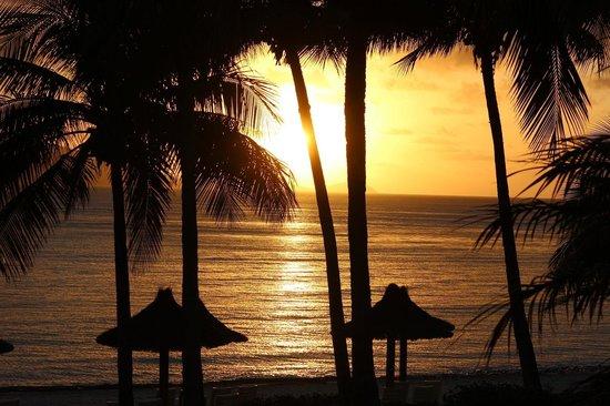 Beach Club: Sunrise from our room