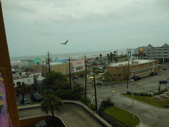 Quality Inn & Suites Beachfront: View from room