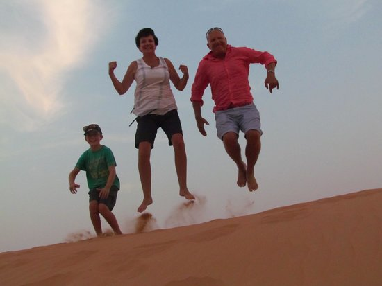 Arabian Adventures: Trying to fly!