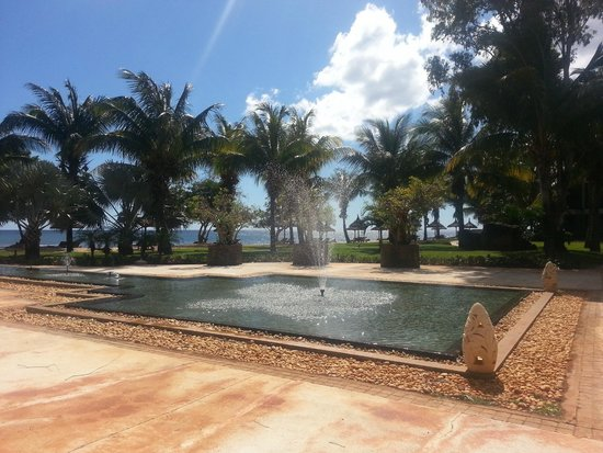 InterContinental Mauritius Resort Balaclava Fort : le jardin